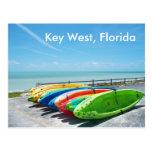 Foto de la postal del océano de la playa de Key We