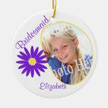 Foto de la púrpura de la margarita de la dama de h ornamente de reyes