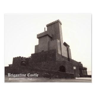 Foto de la reproducción del castillo del bergantín fotografías
