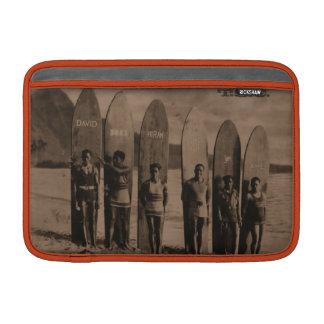 Foto de la resaca del vintage del aire de Macbook. Funda Macbook Air