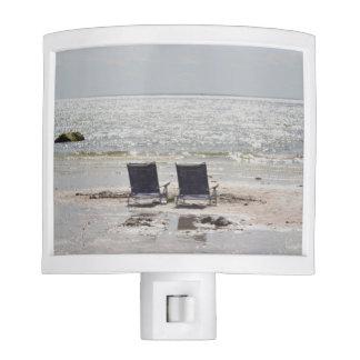 Foto de la silla de playa lámparas de noche