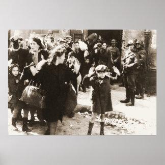 Foto de la sublevación del ghetto de Varsovia de J Posters