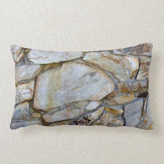Foto de la textura de la pared de la roca en almohadas