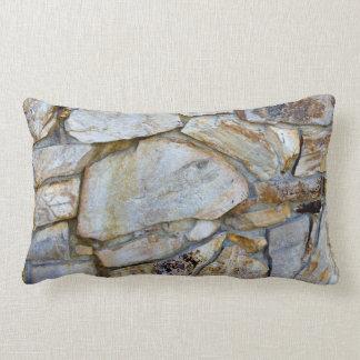 Foto de la textura de la pared de la roca en cojines