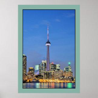 Foto de la torre del NC de Toronto Canadá Posters