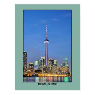 Foto de la torre del NC de Toronto Canadá Postales