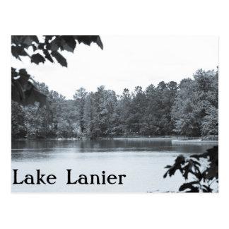 Foto de Lanier del lago vintage Postal