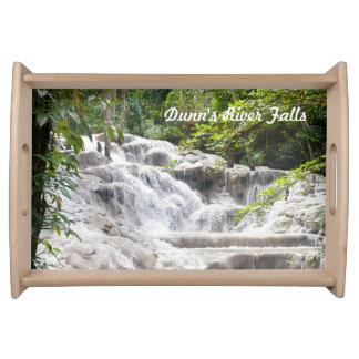 Foto de las caídas del río de Dunn Bandeja