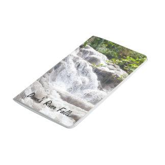 Foto de las caídas del río de Dunn Cuaderno Grapado