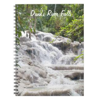 Foto de las caídas del río de Dunn del Cuaderno