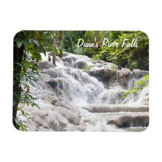 Foto de las caídas del río de Dunn del Imán De Vinilo