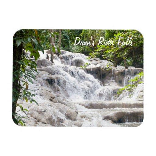Foto de las caídas del río de Dunn del personaliza Imán De Vinilo