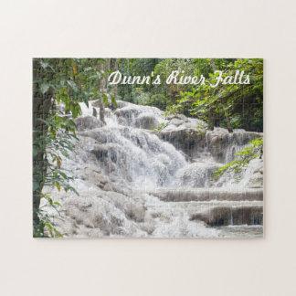 Foto de las caídas del río de Dunn del personaliza Puzzles