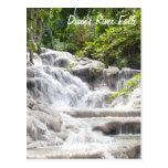 Foto de las caídas del río de Dunn del personaliza Tarjetas Postales