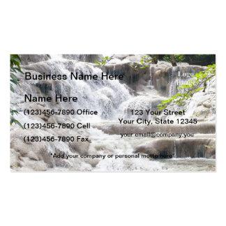 Foto de las caídas del río de Dunn del personaliza Tarjetas De Visita