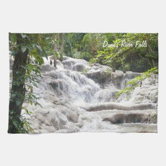Foto de las caídas del río de Dunn del personaliza Toallas