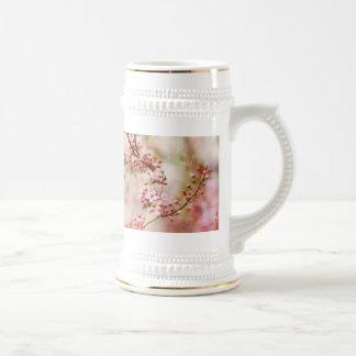Foto de las flores de cerezo taza de café