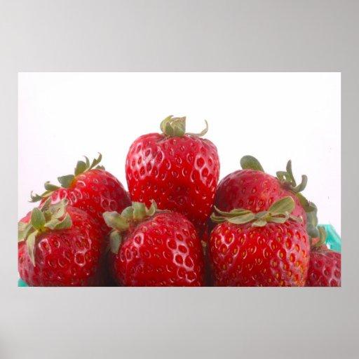 Foto de las fresas posters