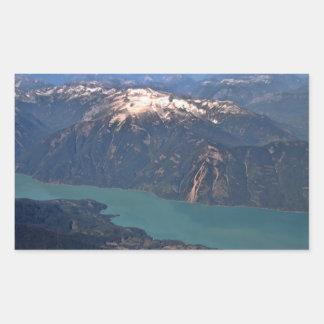 Foto de las montañas rocosas rectangular altavoz