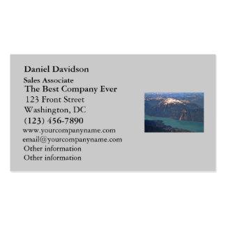 Foto de las montañas rocosas tarjetas de visita