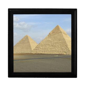 Foto de las pirámides de Giza Cajas De Recuerdo