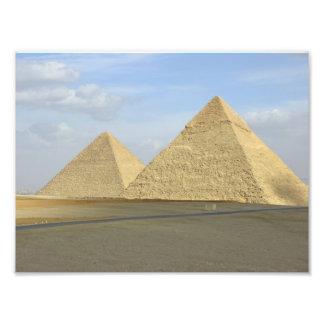 Foto de las pirámides de Giza Fotografía