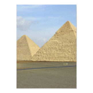 """Foto de las pirámides de Giza Invitación 5"""" X 7"""""""