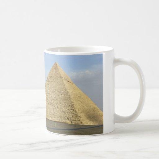 Foto de las pirámides de Giza Taza