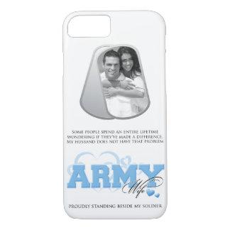 Foto de las placas de identificación de la esposa funda iPhone 7