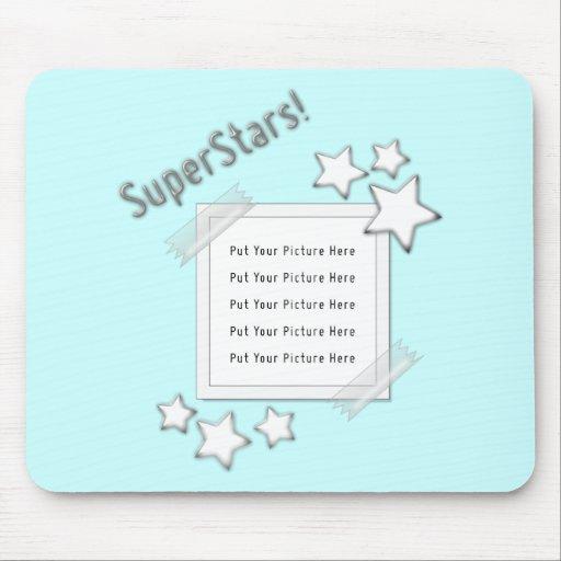 Foto de las superestrellas mouse pads