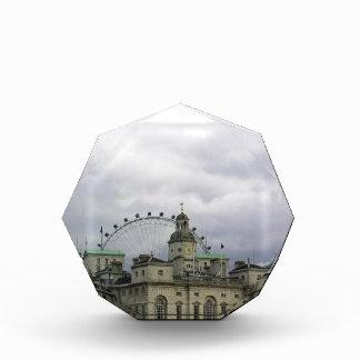 Foto de Londres con el ojo de Londres en fondo