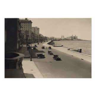 Foto de los años 20 del rugido de La Habana Maleco Póster