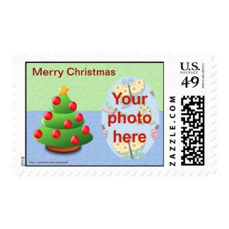 Foto de los saludos de la estación del navidad envio