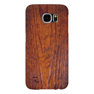 Foto de madera antigua del grano funda samsung galaxy s6