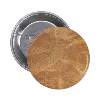 Foto de madera del grano del cedro pin redondo de 2 pulgadas