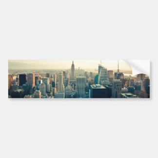 Foto de Manhattan Pegatina De Parachoque