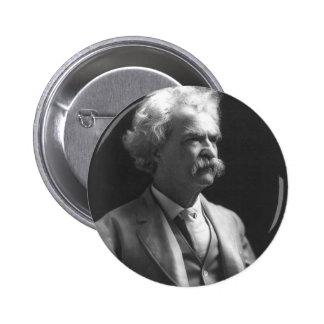 foto de Mark Twain Pin Redondo 5 Cm