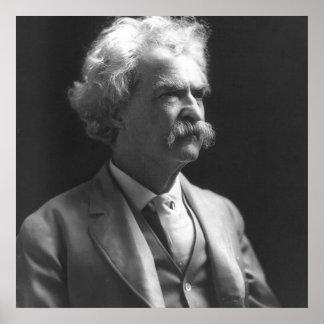 foto de Mark Twain Póster