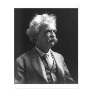 foto de Mark Twain Postal