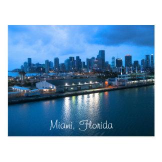 Foto de Miami del personalizar Tarjetas Postales