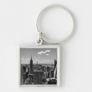 Foto de New York City con Empire State Building Llaveros
