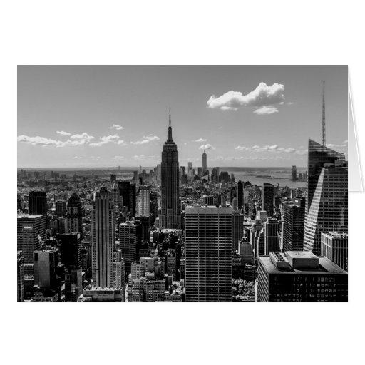 Foto de New York City con Empire State Building Tarjeta Pequeña