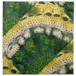 Foto-De Op. Sys. Crocheted Servilleta De Papel