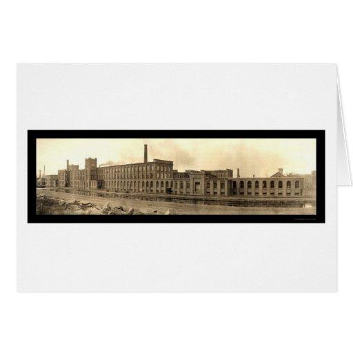 Foto de papel 1909 de Holyoke de los párrocos Tarjeta De Felicitación