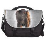 Foto de pelo largo alemana de HDR del perro del in Bolsas Para Portátil