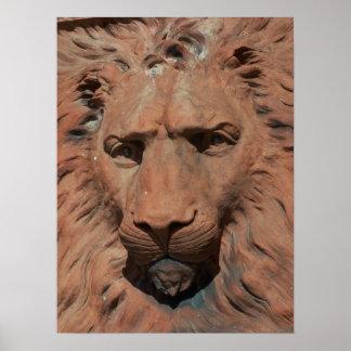 Foto de piedra tallada león de St Augustine del al Impresiones