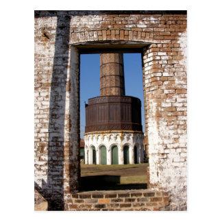 Foto de preguerra de la torre de Georgia de la Postales