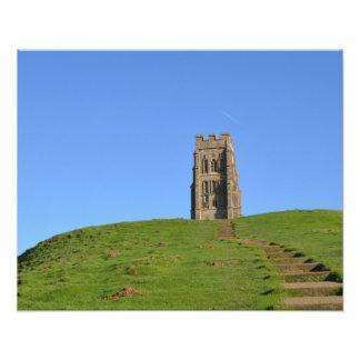Foto de Somerset Inglaterra del Tor de Glastonbury Fotografía