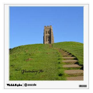Foto de Somerset Inglaterra del Tor de Glastonbury Vinilo