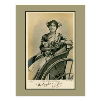 Foto de Srta. Sibyl Arundale de la actriz de la Postales